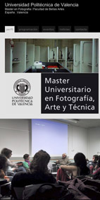 Séance Photolatente Master de Photographie, Universidad Politécnica de Valencia